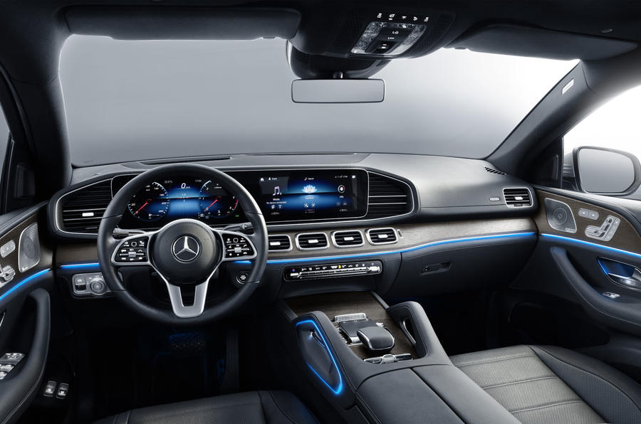 Mercedes-Benz GLE Coupé static - dashboard