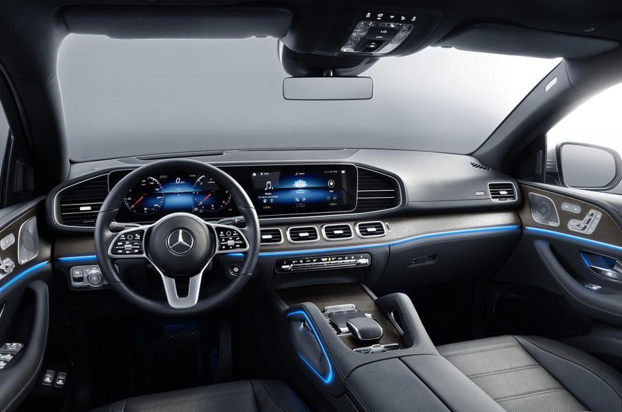 Mercedes-Benz GLE Coupé static - dashboard