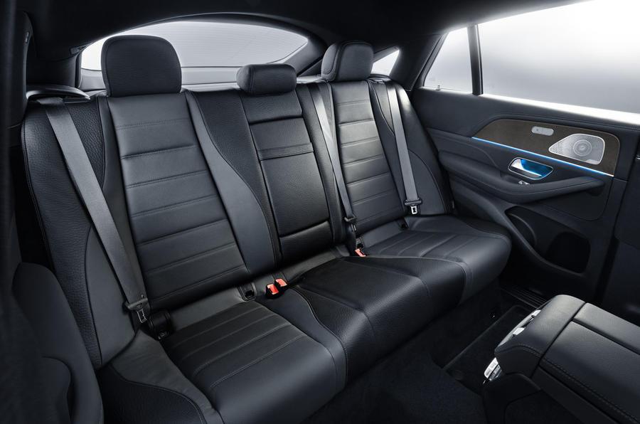 Mercedes-Benz GLE Coupé static - rear seats