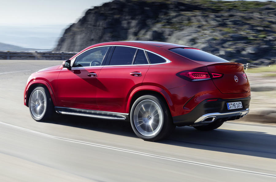 Mercedes-Benz GLE Coupé dynamic - rear