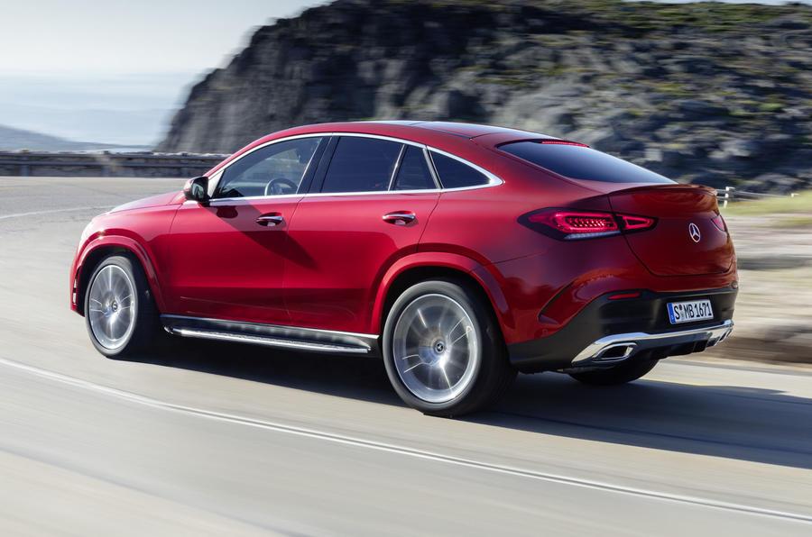 Mercedes-Benz GLE Coupé dynamic - rear