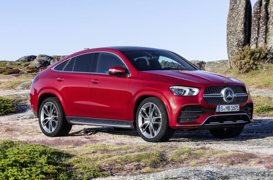 Mercedes-Benz GLE Coupé static - parked