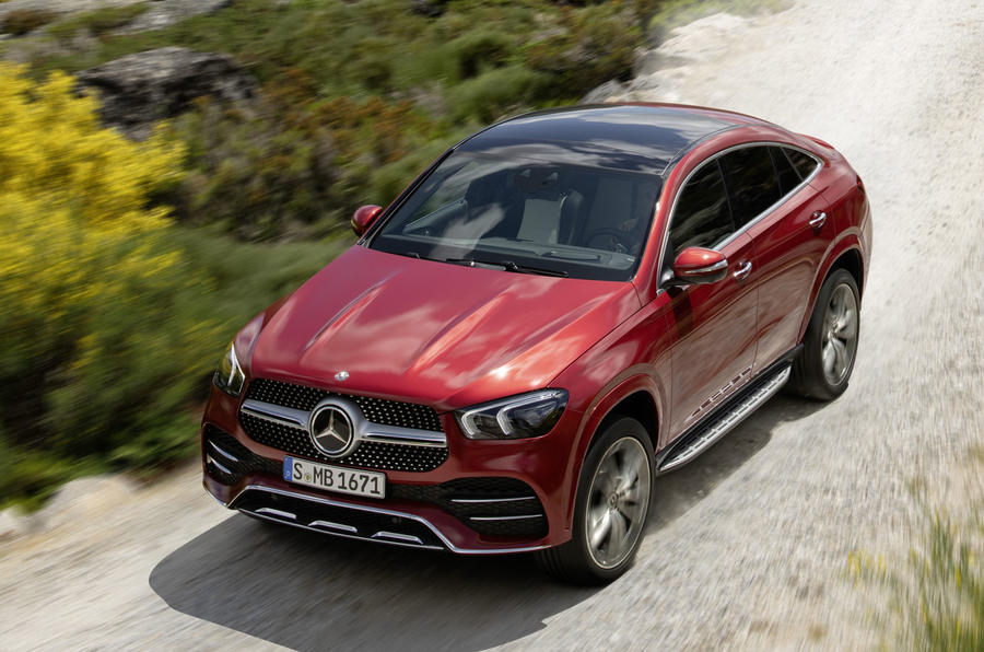 Mercedes-Benz GLE Coupé dynamic - front