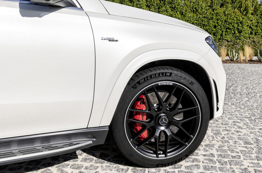Mercedes-AMG GLE 53 Coupé static - front wheel