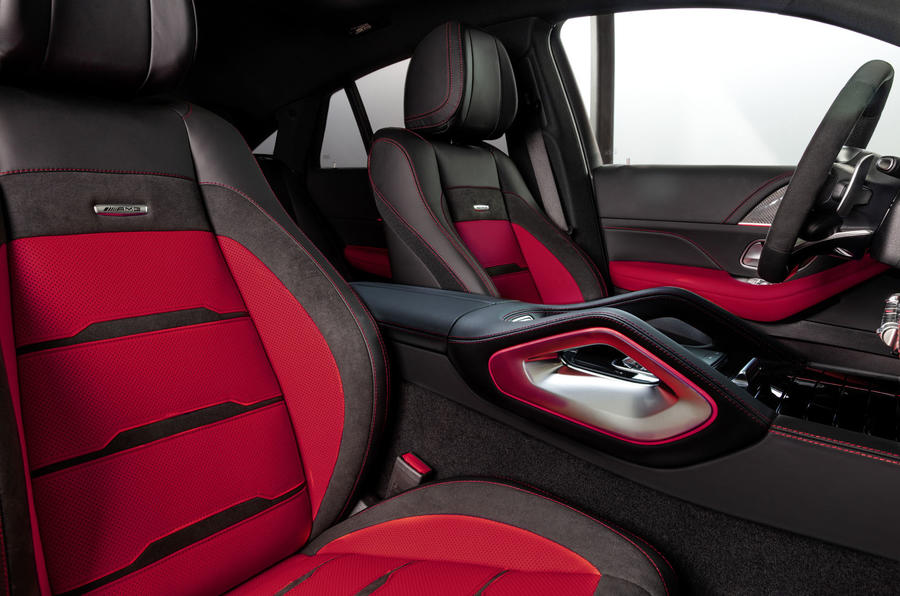Mercedes-AMG GLE 53 Coupé static - front seats