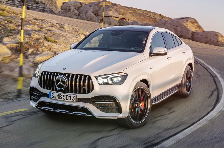 Mercedes-AMG GLE 53 Coupé dynamic - front