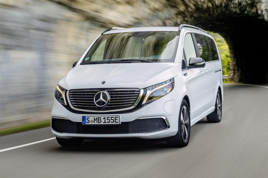2020 Mercedes-Benz EQV revealed - driving front
