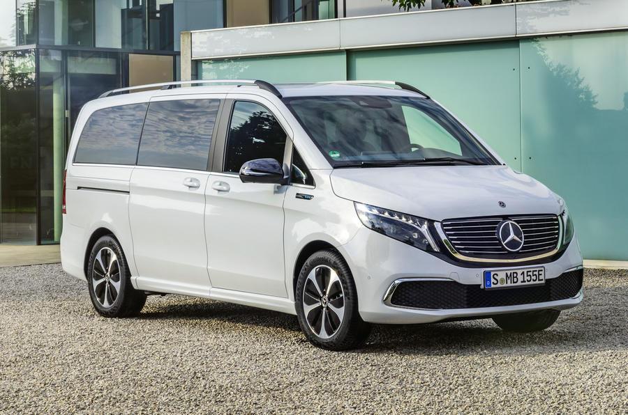 2020 Mercedes-Benz EQV revealed - static front