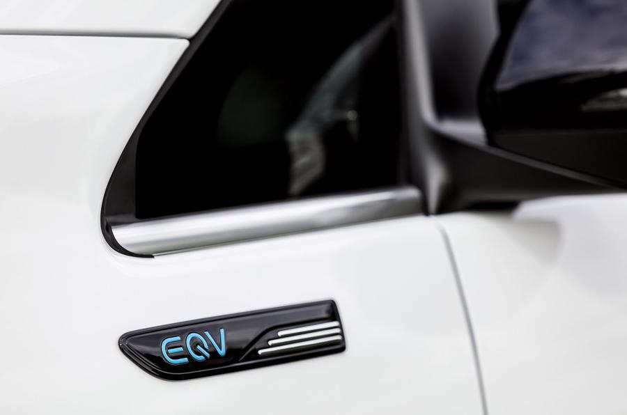 2020 Mercedes-Benz EQV revealed - detail