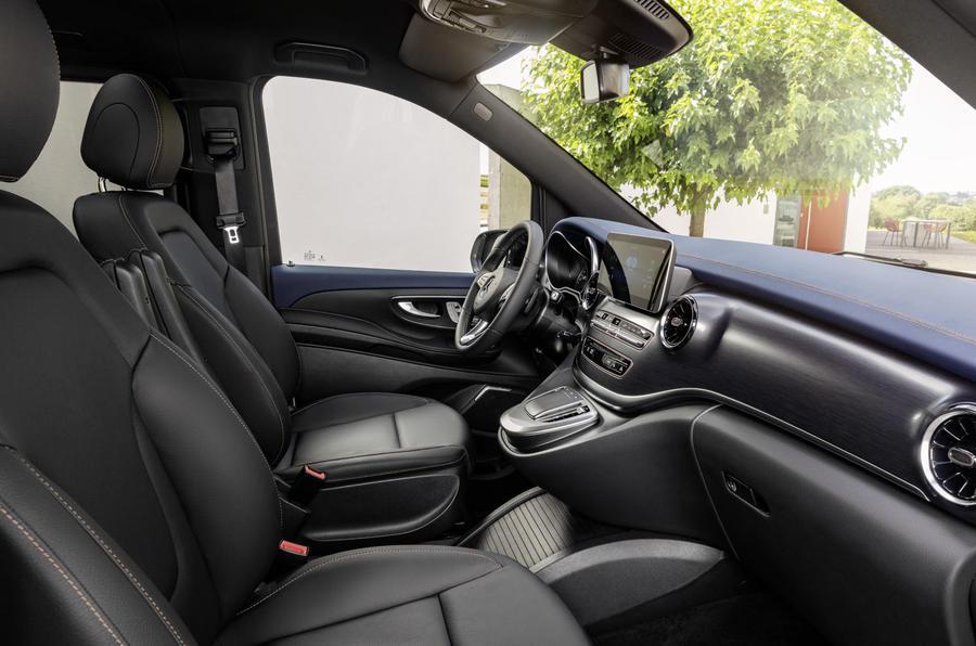 2020 Mercedes-Benz EQV revealed - front seats
