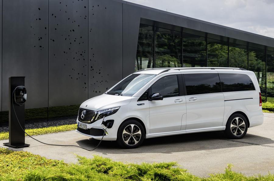 2020 Mercedes-Benz EQV revealed - charging