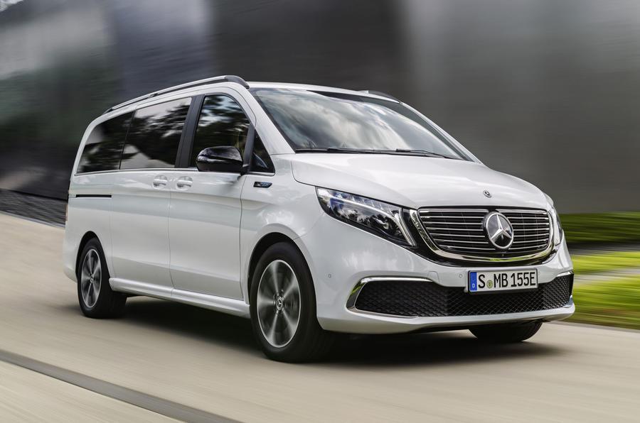 2020 Mercedes-Benz EQV revealed - front
