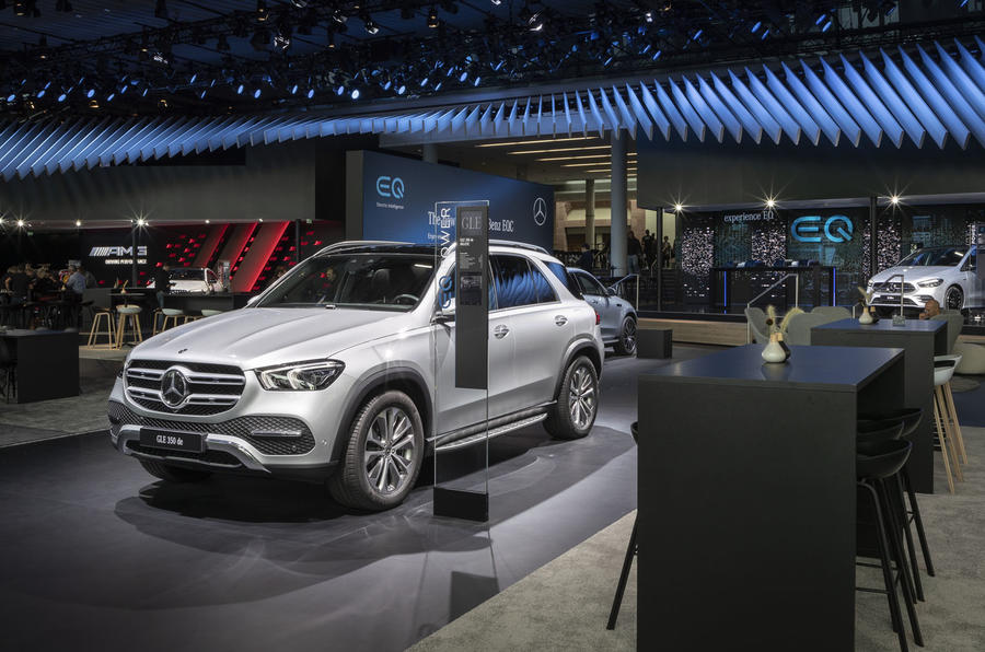 Mercedes-Benz GLE 350de at Frankfurt motor show
