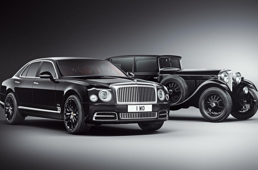 Bentley Mulsanne WO Edition by Mulliner - 100 units