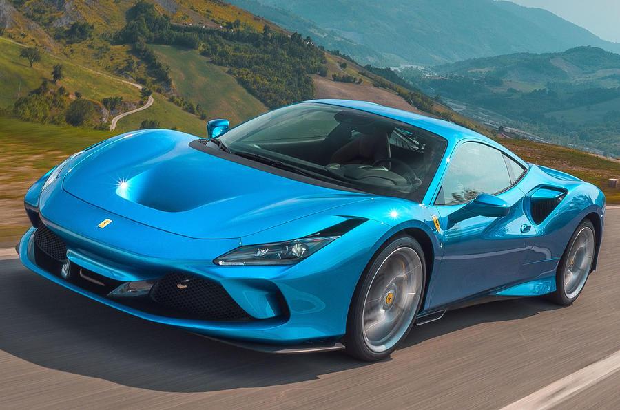 Ferrari F8 Tributo 2019 first drive review - hero front