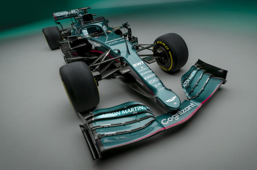 New Aston Martin F1 team unveils 2021 AMR21 challenger ...