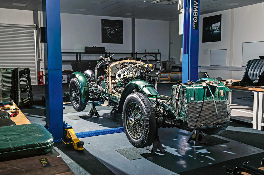 Bentley Blower continuation - bare bones