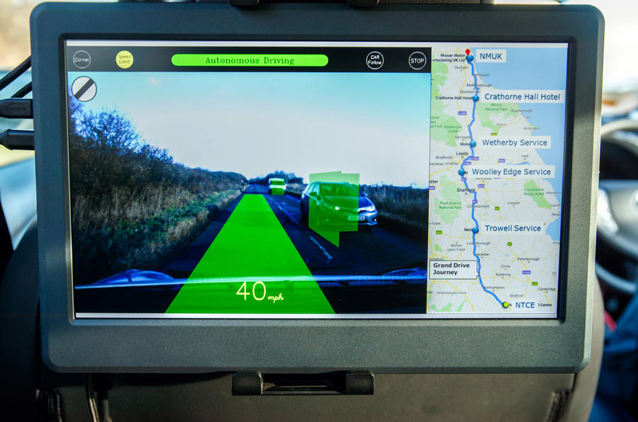 Grand Drive Nissan Leaf - data