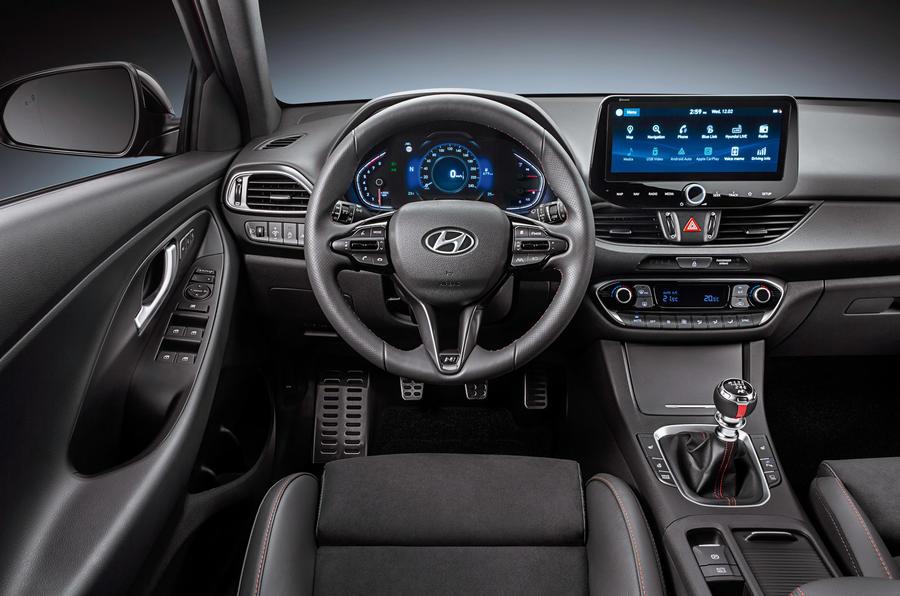 Hyundai N-Line 2020 - interior
