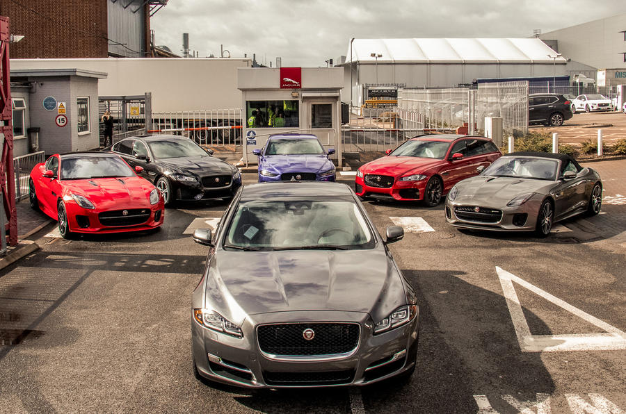 Jaguar Land Rover electrified vehicles