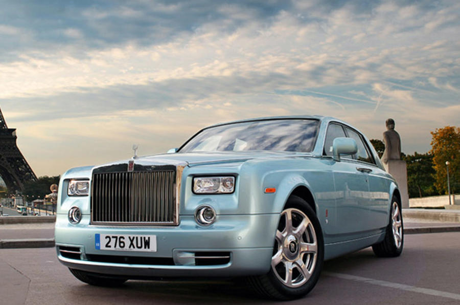Rolls-Royce 102EX electric Phantom 2020 - stationary front