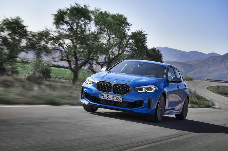 BMW 1 Series driving - front