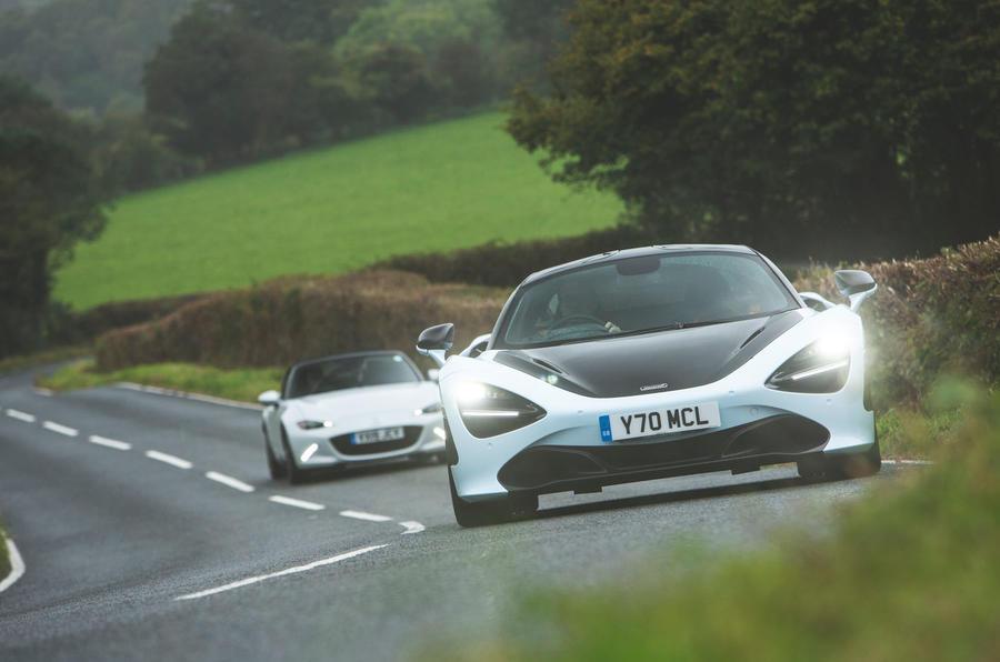 McLaren 720S vs Mazda MX-5 1