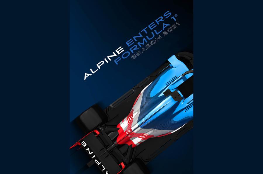 Alpine f1 teaser