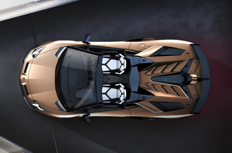 Lamborghini Aventador SVJ Roadster debuts in Geneva with 770 hp