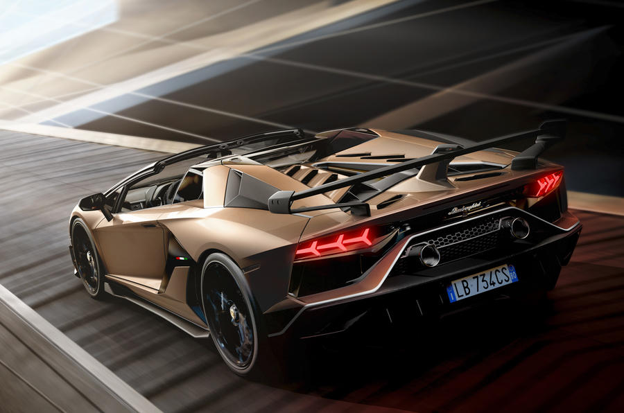 The Lamborghini Aventador SVJ Roadster Isn't a Surprise, and That's Just Fine