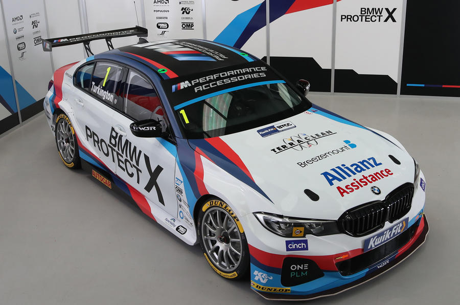 BTCC BMW 3 Series livery