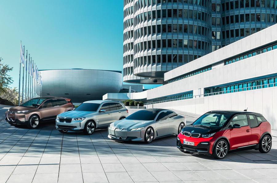 BMW i family