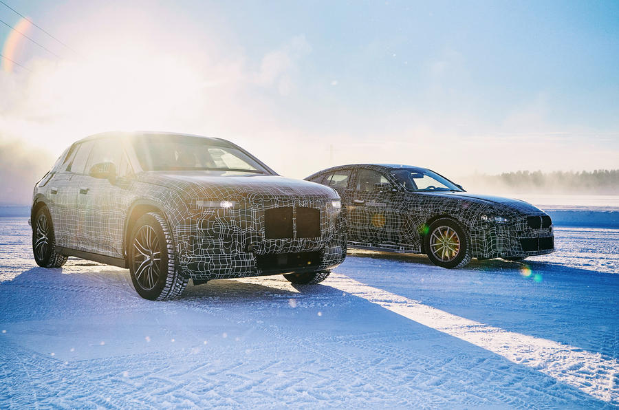 BMW iX3 and i4