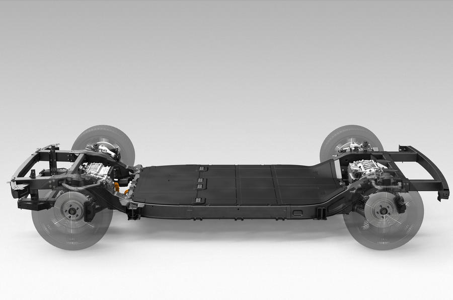 Canoo chassis