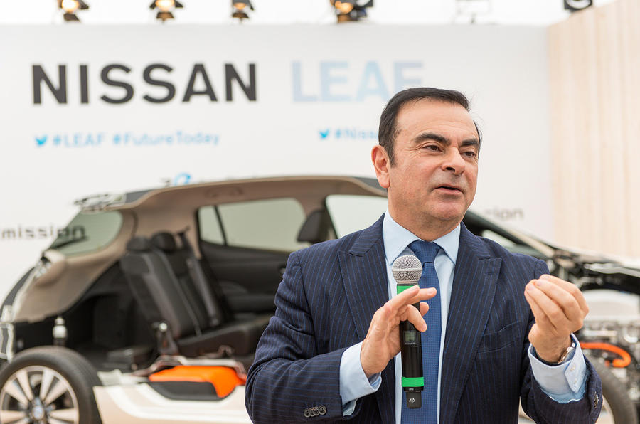 Nissan says chairman Ghosn to be dismissed for misconduct
