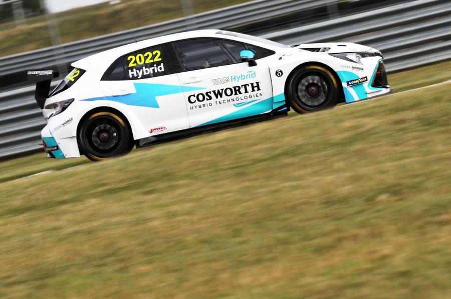 BTCC Cosworth Hybrid