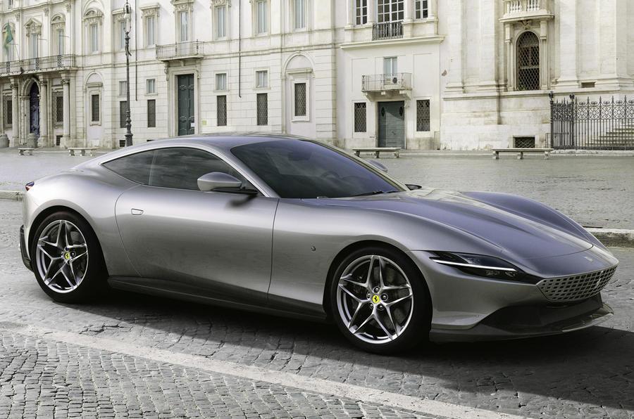 Ferrari Roma - front
