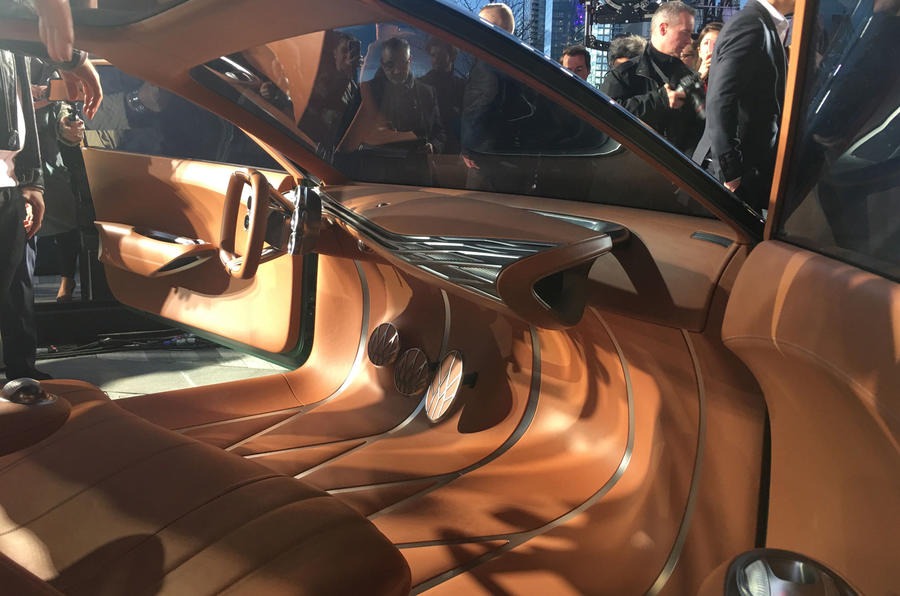 Genesis Mint concept - New York Motor show 2019 - interior