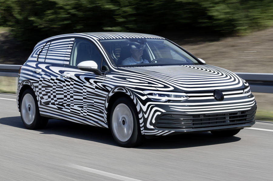New Volkswagen Golf Mk8: unveiling set for autumn 2019