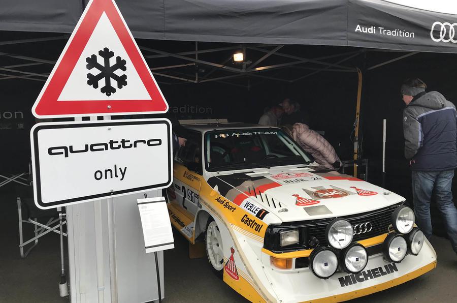 GP Ice Race Audi Quattro
