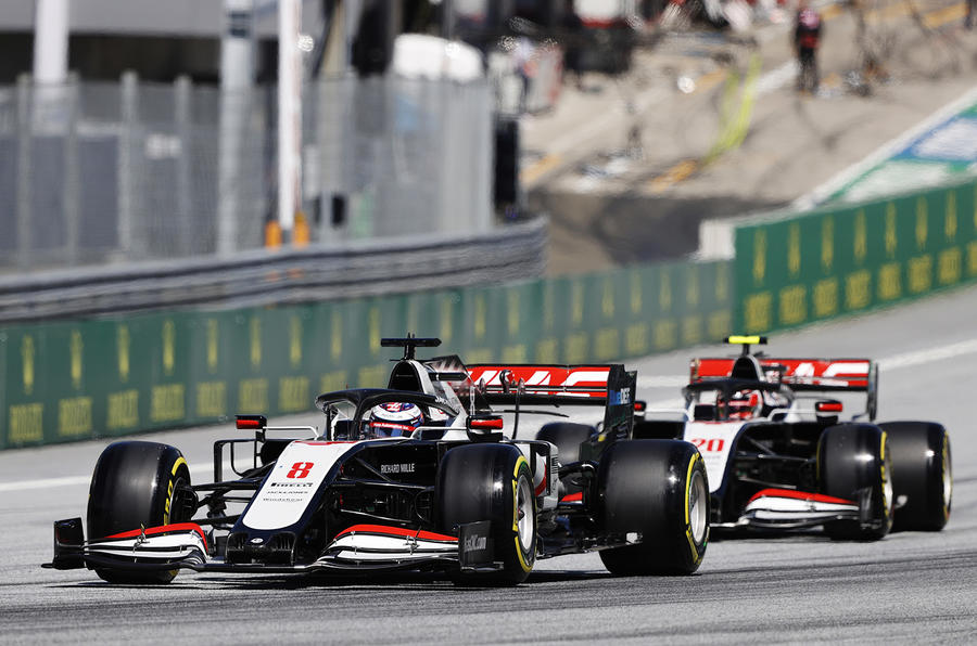 Grosjean and Magnussen to leave Haas after 2020 season
