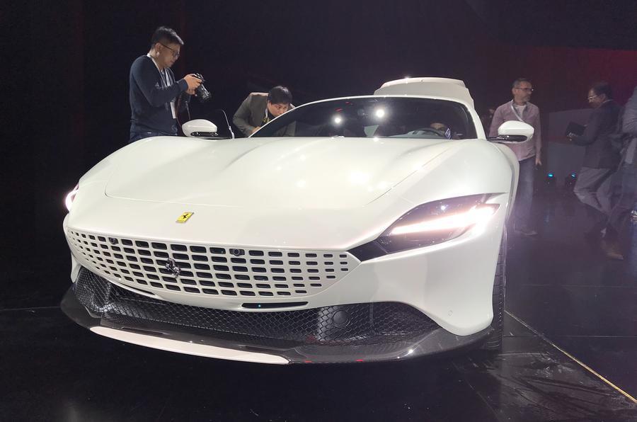 Ferrari Roma white 2