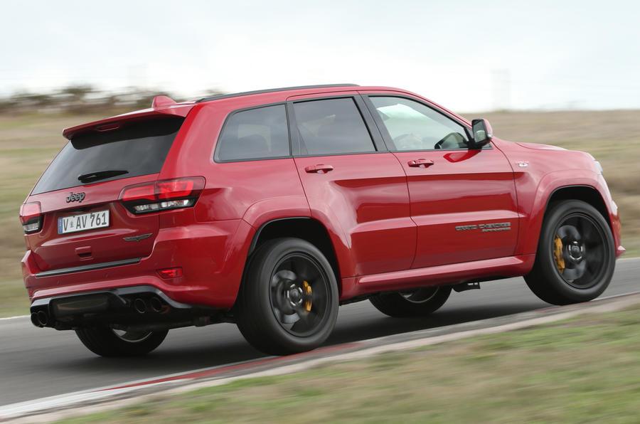 Jeep Grand Cherokee Trackhawk: UK pricing set for 700bhp SUV