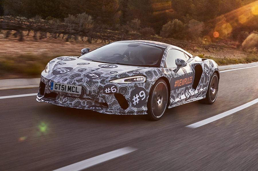 New McLaren Grand Tourer