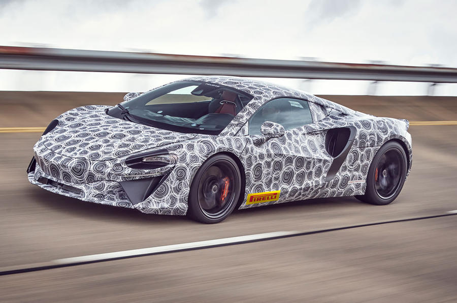 McLaren High-Performance Hybrid