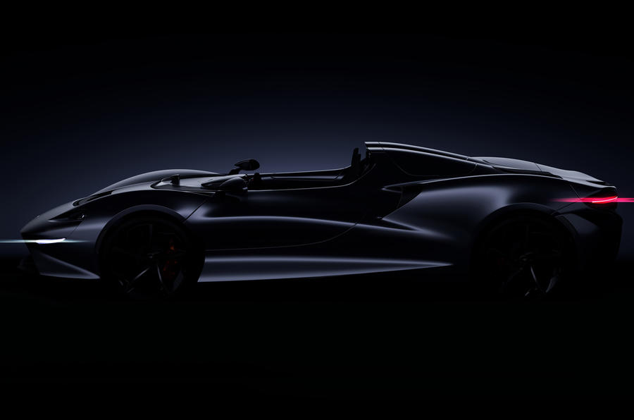 McLaren's Next Ultimate Series Model Is A Limited Production Roadster