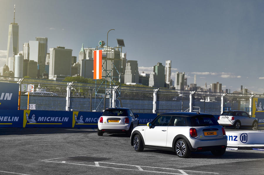 Mini Electric driven in New York