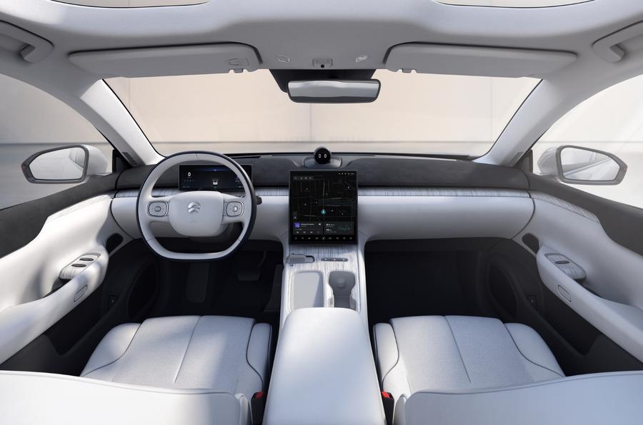 Chinese EV firm Nio unveils ET7 saloon as new flagship  Autocar