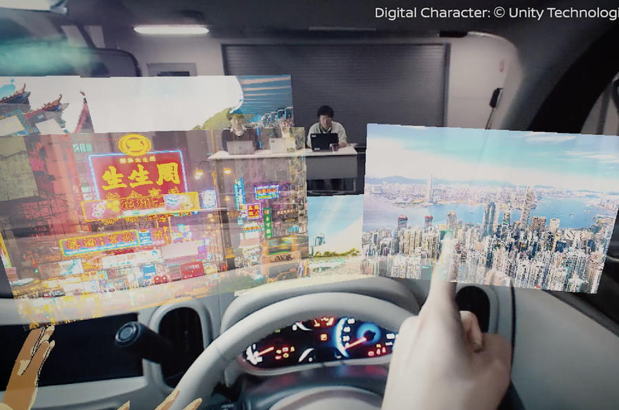 Nissan Invisible-to-Visible system