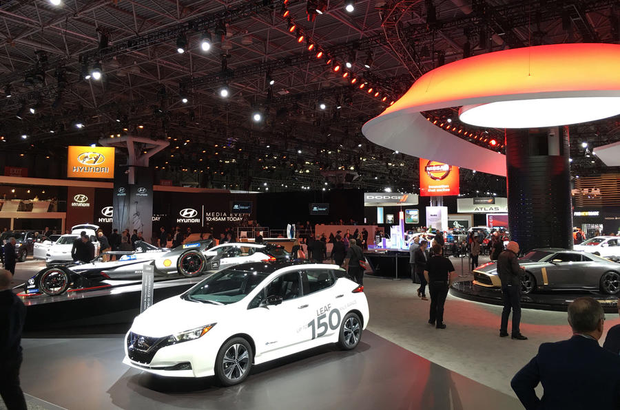 2019 New York motor show